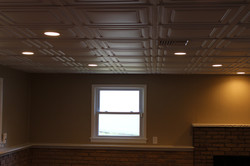 Drop-ceiling recessed lighting