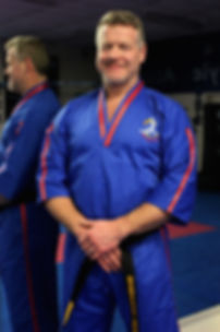 Master Richard Vince 7th Dan at Black Belt Academy