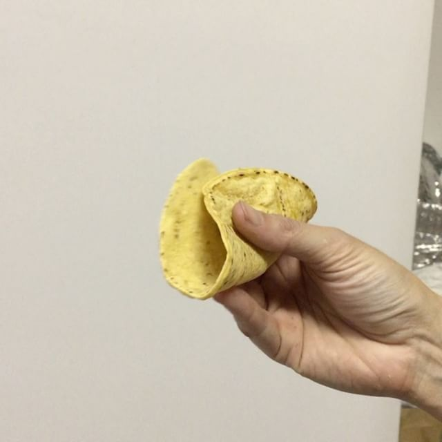 Does your corn tortilla do this_ Our Nixtamal Corn Tortillas are super pliable and hold up to the ju