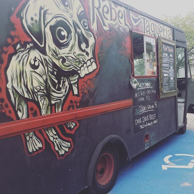 Finally got to catch _rebeltaqueria out on the town