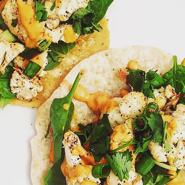 _thekalewhale cooked up some delicious veggie tacos using our tortillas