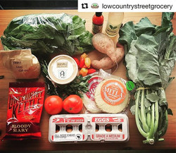 #Repost _lowcountrystreetgrocery with _repostapp_・・・_Community Supported Grocery tomorrow! If you do