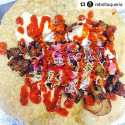 _rebeltaqueria's are also wrapped up in Mitla flour tortillas! #Repost _rebeltaqueria with _repostap