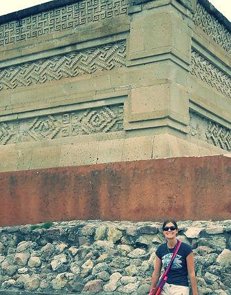 Grace a Mitla ruins