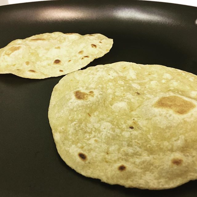 Toasty tortillas