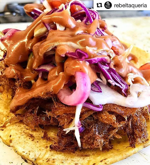 #Repost _rebeltaqueria with _repostapp_・・・_Our Pork Carnitas Tacos are done right! Did you know we u