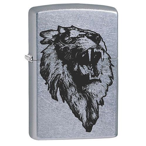 The Bold Lion Zippo Lighter