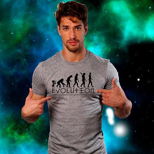 Evolution Alien  DNA  T Shirt