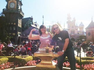 Living Well Spa Guest Erin B Celebrates Her 50th Birthday in Disneyland!