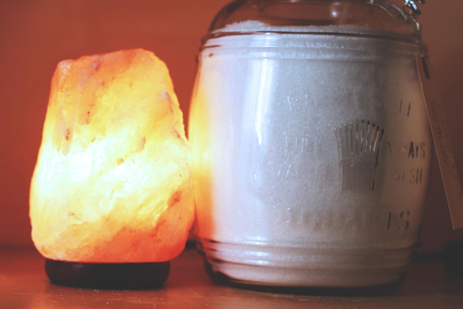 Salt Lamps and Epsom Salt