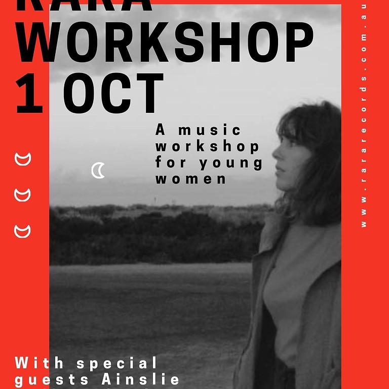 RaRa Workshop for Young Women