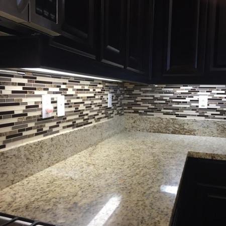 Kitchen Back Splash Corner