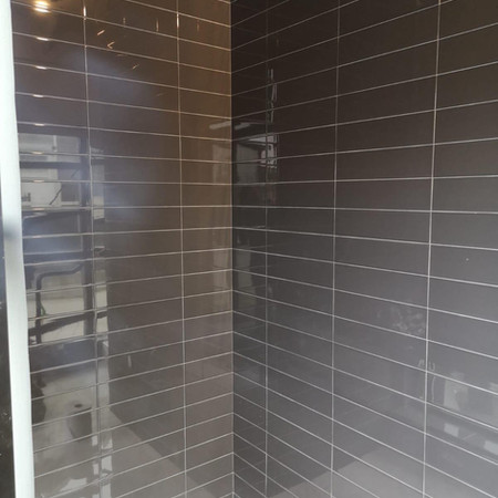 Commercial Tile Wall