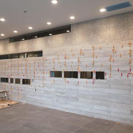 Tiled Commercial Entrance