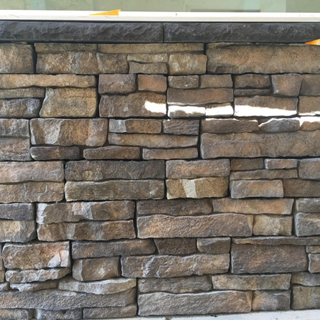 Veneer Stone Facade - Close Up