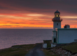 Arranmore Lighthouse after Sunset