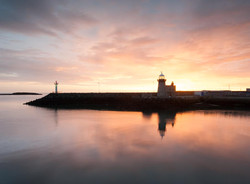 Sunrise at Howth Harbour Lighthouse
