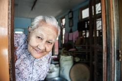 Old Nun in Mandalay Convent