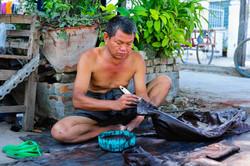 At work in Mandalay