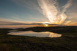 Twin Lakes Sunset, Arranmore Island
