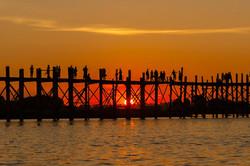 Ubein Bridge, Mandalay