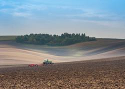 Ploughing Moravian Fields