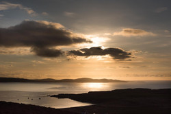 view across to Fanad Head