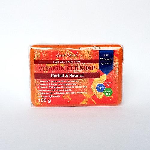 Secret Island Vitamin CEB Soap 100g