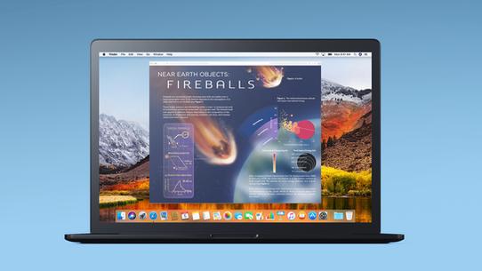 Fireballs Interactive Website