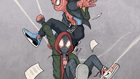 Peter Parker & Miles Morales