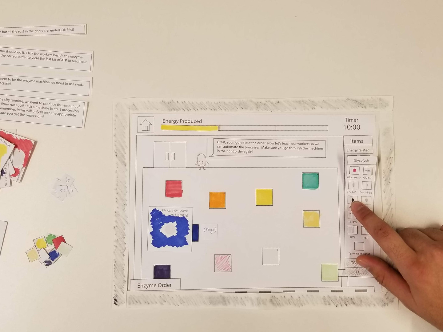 Paper Prototype Level 1