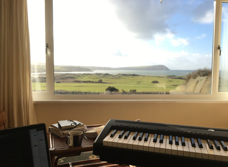 9. Writing in Wales (Moonlight Melody)
