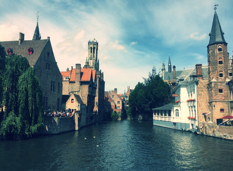 And you may ask yourself - How did I get here? (From living in London to the streets of Brugge)