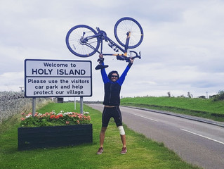 450 Miles of Hard Road (Filming a music video by riding the length of the country whilst raising mon