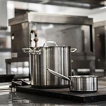 Pots in Kitchen