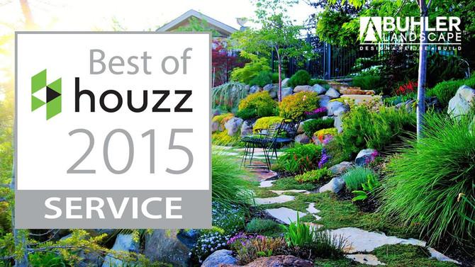 WE WON BEST OF HOUZZ 2015!