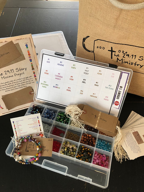Jeremiah's Story Mission Project Kit