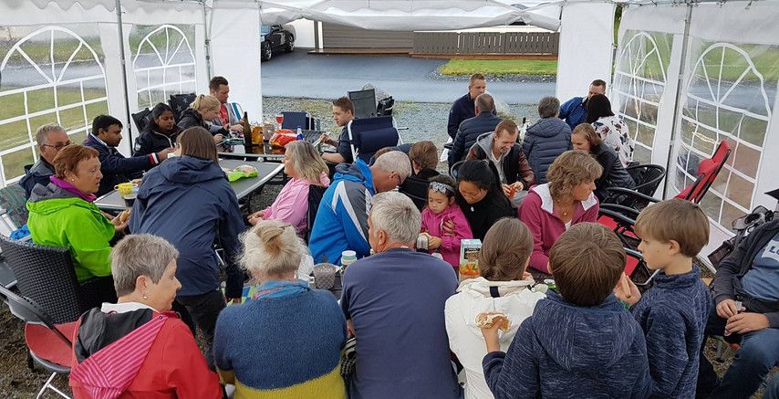 Sommarfest på Foldrøy