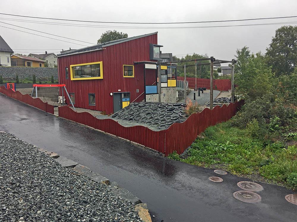 Huset - SFO-bygget på Foldrøy