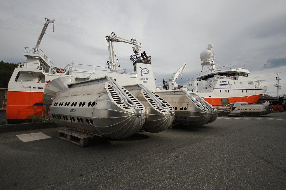 Sago Extreme klare på kaien framfor Ocea