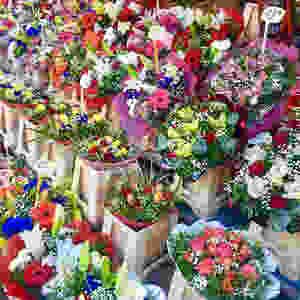 Mercato dei fiori Nizza @Ilaria Giacomello