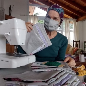 Sesc SP mobiliza cadeia produtiva para confecção de máscara de tecido