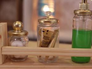 Como reutilizar o pote de geleia na decoração de casa? #DIY