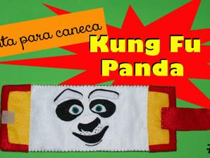 DIY: Cinta de caneca do urso Po, do 'Kung Fu Panda' #vídeo #moldegratuito