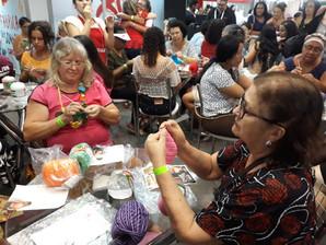 Artesãos dão aulas gratuitas de crochê e amigurumi na Artesanal Nordeste