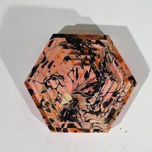 Arte do marmoreio no trabalho de Tomasz Lipinski