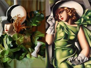 Incríveis esculturas florais de Harriet Parry