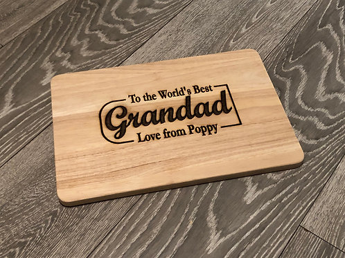 Personalised 'The Best' Chopping Board