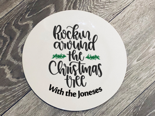 Family Christmas Plate - In support of Child Bereavement UK