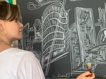 Artista Plástica Joanna Scharlé Encanta O Interior do Estado